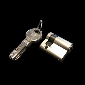 cilinder ten behoeve van sleutelschakelaar met verstelbare nok