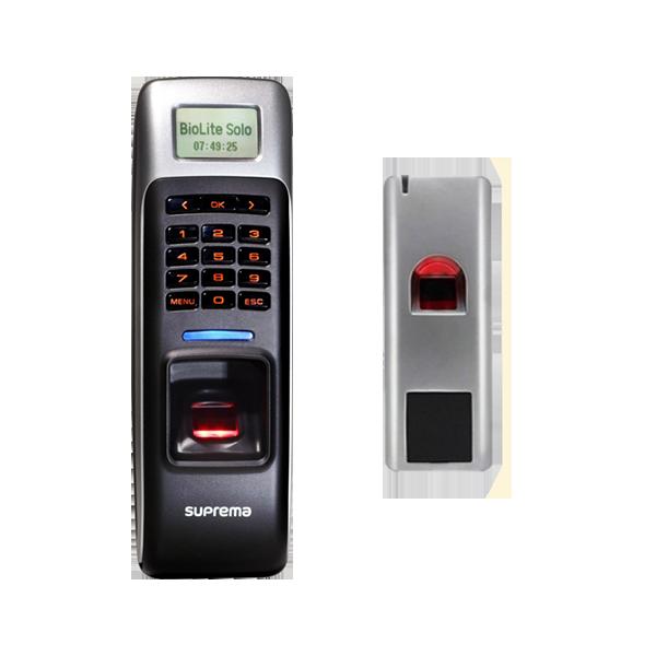 vingerscanners biotoegangscontrole